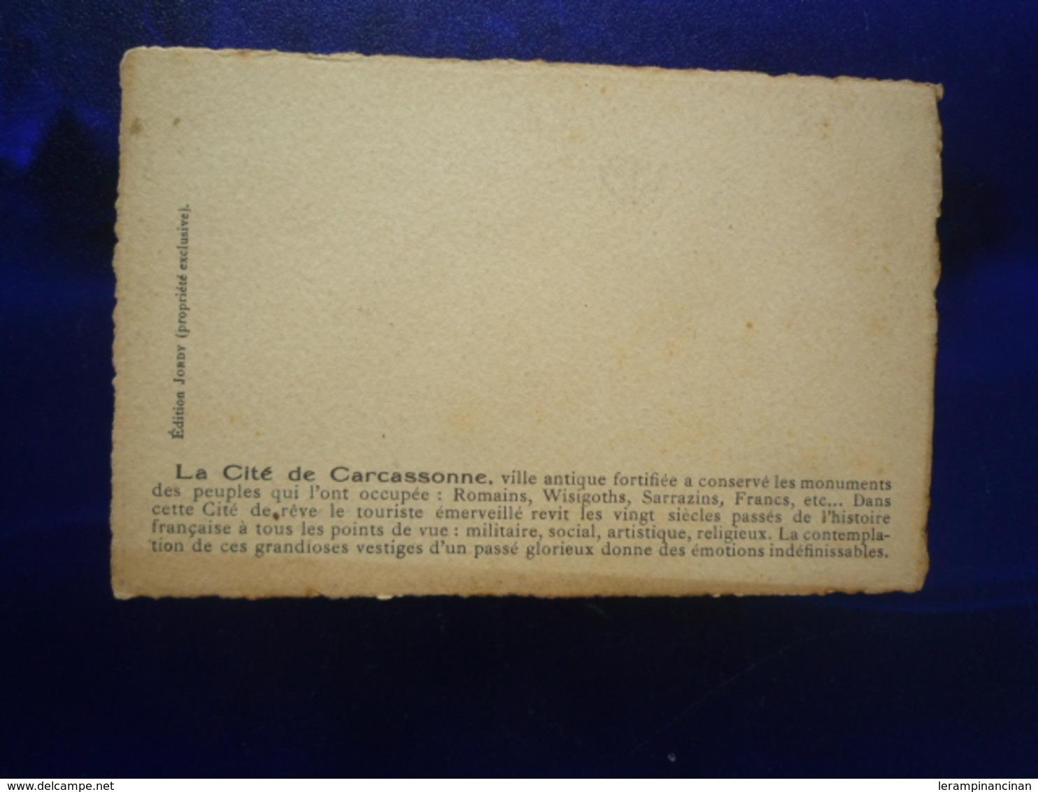 LA CITE DE CARCASSONNE BON ETAT - Other
