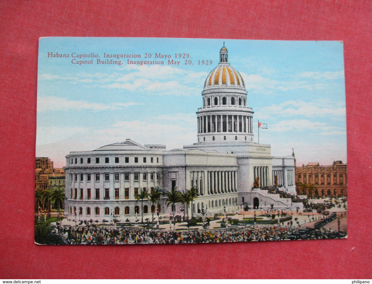Capitol Building  Habana  Cuba      Ref 3428 - Cuba