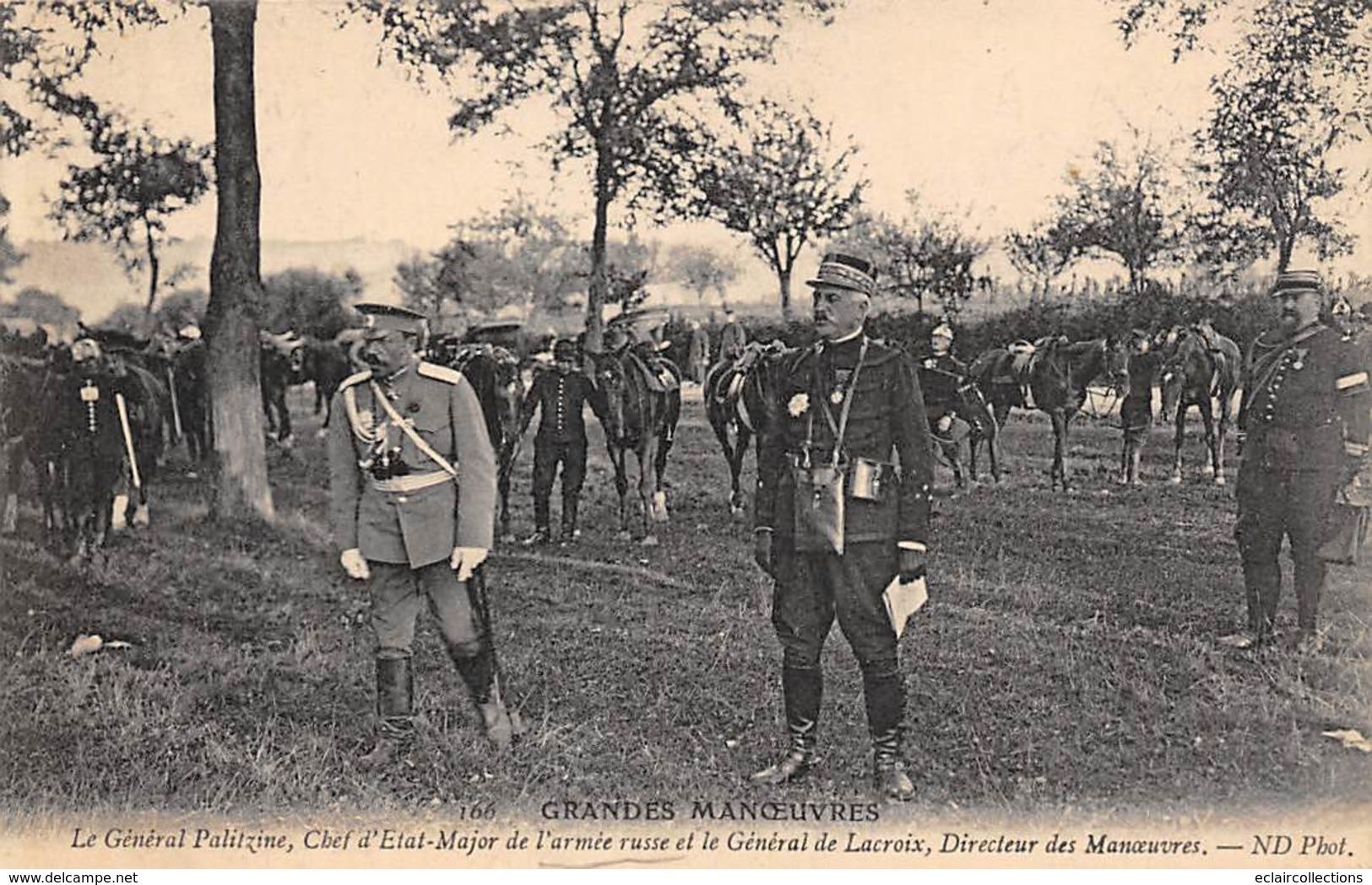 Alentours D'Ecuillé Et Valençay 36  Grandes Manœuvres Du Centre 1908  Général Palitzine . Russe 166  (voir Scan) - Frankreich
