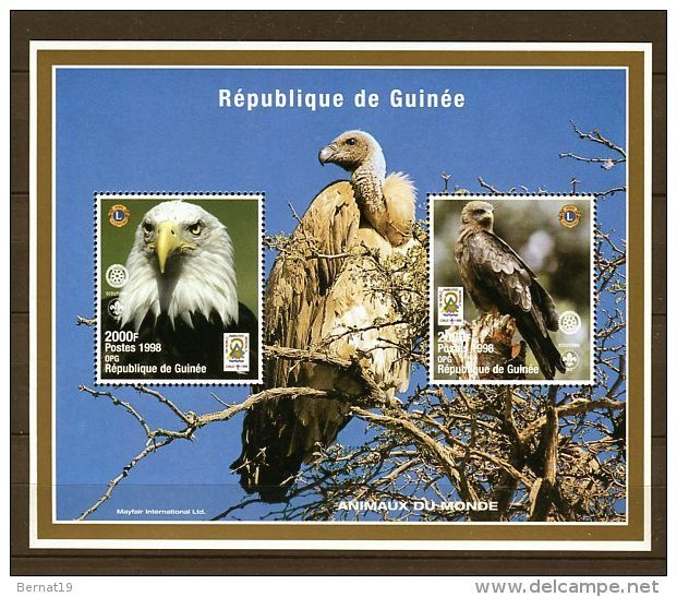 Guinea 1998. Yvert Block 132 ** MNH. - República De Guinea (1958-...)