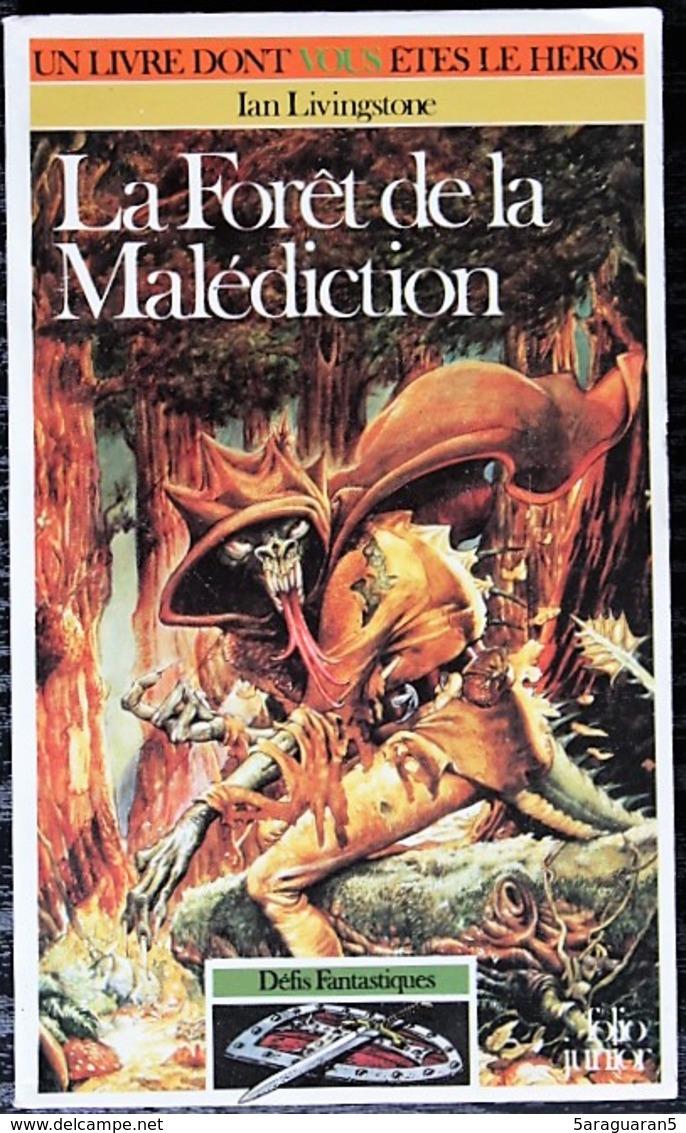LDVELH - DEFIS FANTASTIQUES - 3 - La Forêt De La Malédiction - Gallimard 1992 - Jeux De Société