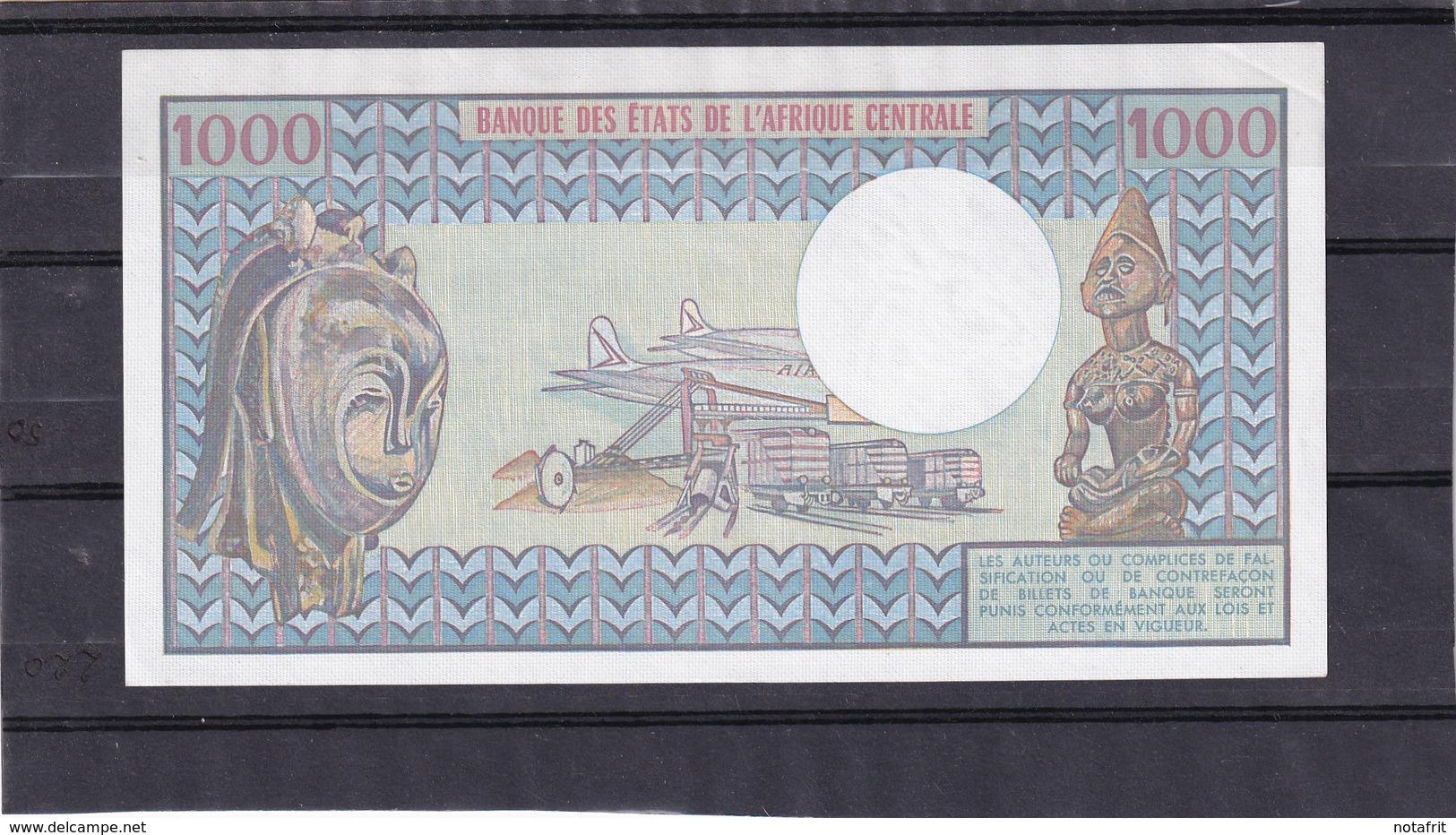 Congo  1000 Fr  RR Unc - Congo