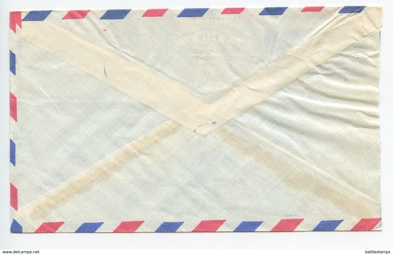 Nigeria 1967 Airmail Cover Kaduna To New York, Scott 192 Kingfishers - Nigeria (1961-...)