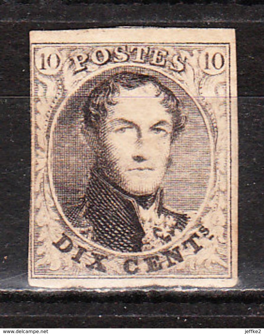 6* (ou 10*)  Médaillon Non Dentelé - Quasi Margé - MH* - LOOK!!!! - 1851-1857 Médaillons (6/8)