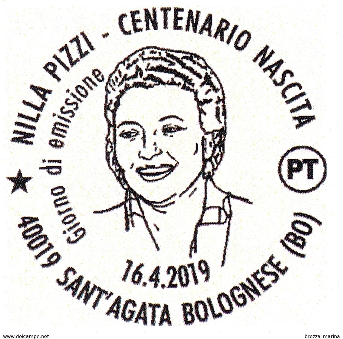 Nuovo - MNH - ITALIA - 2019 - 100 Anni Della Nascita Di Nilla Pizzi, Cantante – Ritratto - B - 1946-.. République