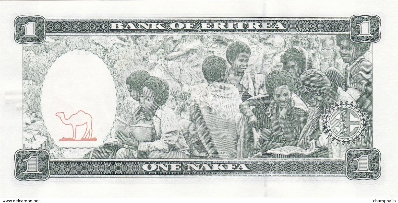 Erythrée - Billet De 1 Nakfa - 24 Mai 1997 - Neuf - Eritrea