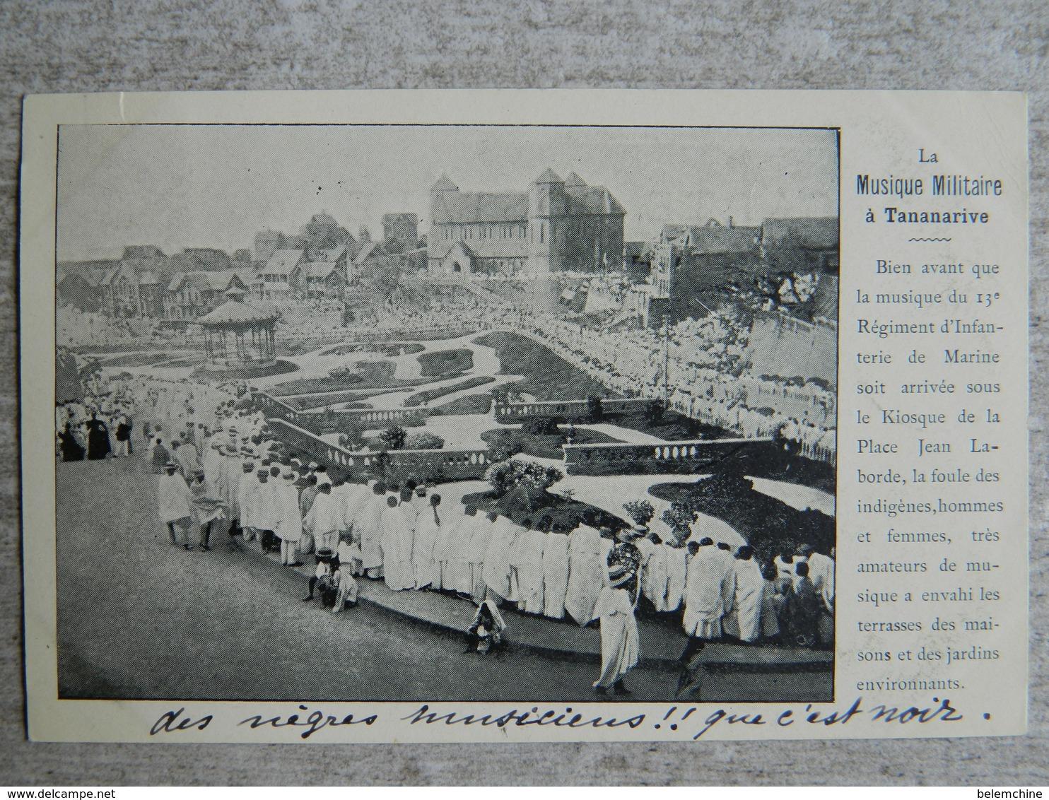 MADAGASCAR    LA MUSIQUE MILITAIRE A TANANARIVE - Madagascar