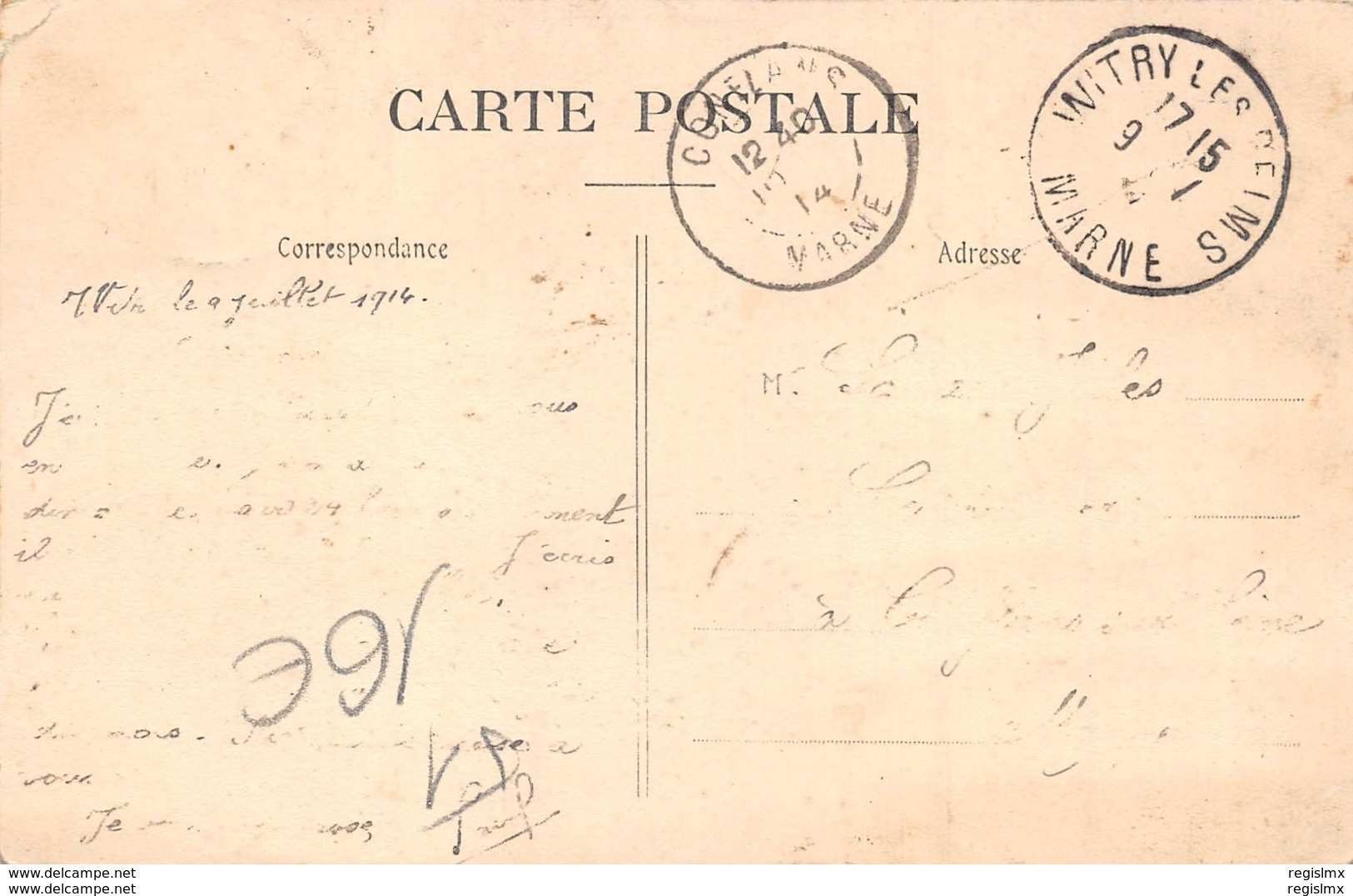 51-WITRY LES REIMS-CAMP DE LA DEFENSE 1914-N°R2044-C/0017 - France
