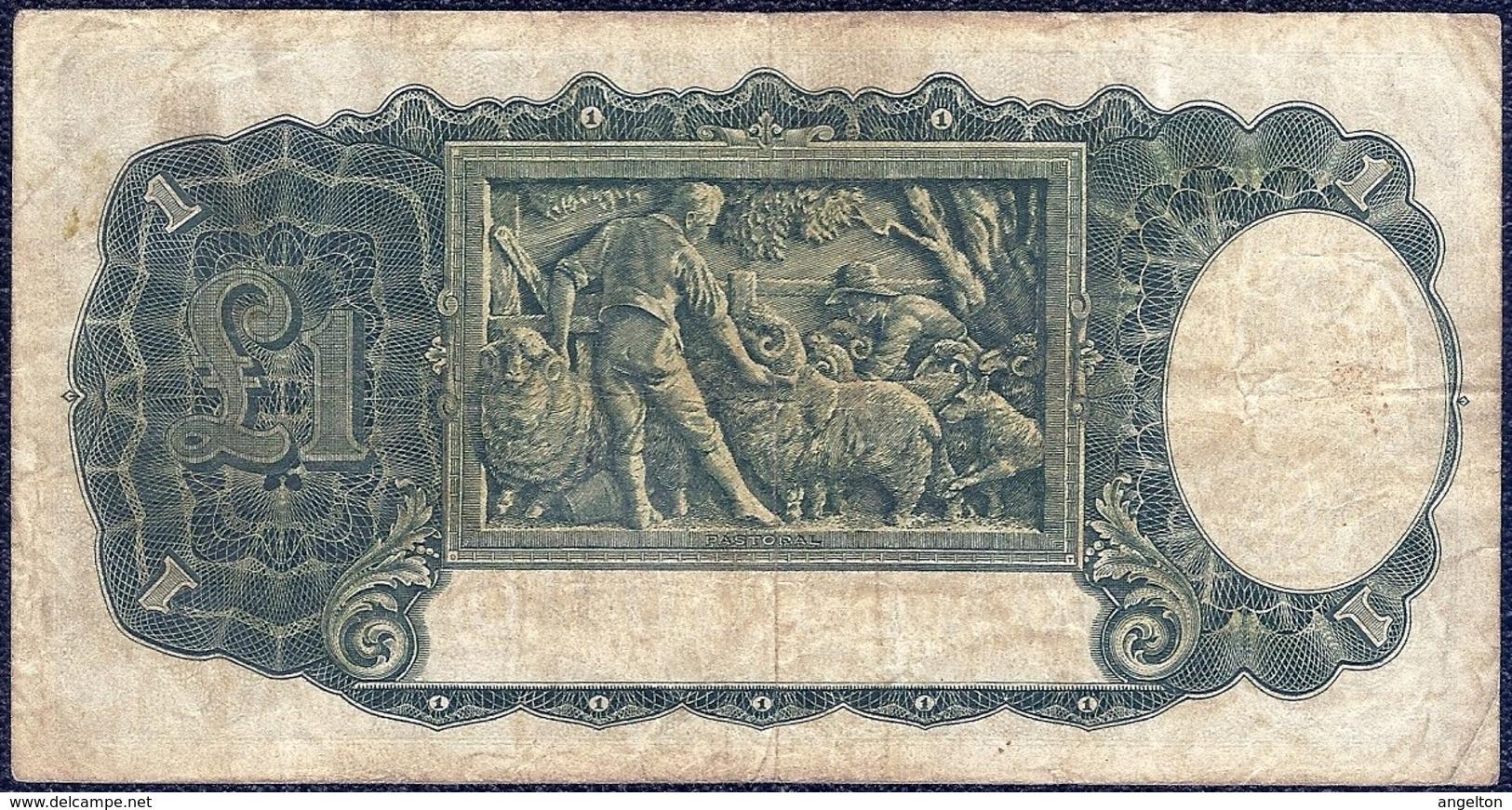 Australia 1 Pound 1942 'VF' P-26b Banknote - Australia