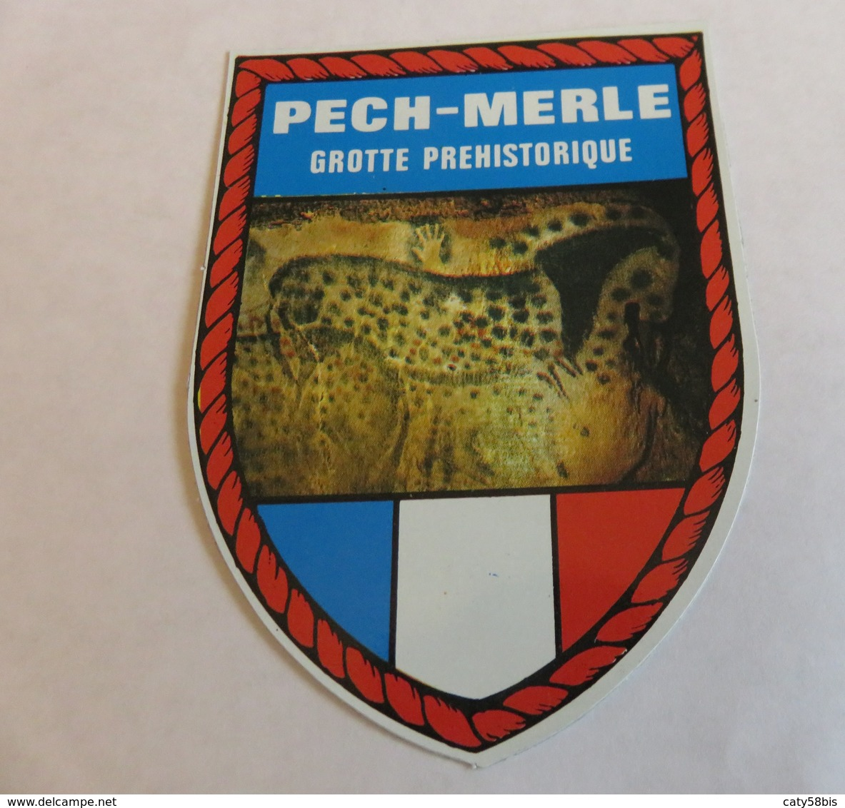écusson Autocollant PECH MERLE - Stickers