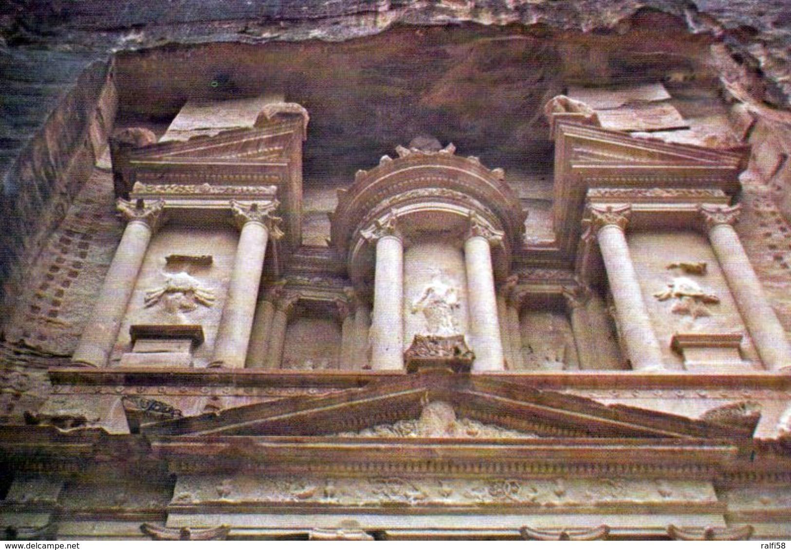 1 AK Jordanien * Details Vom Berühmtesten Bauwerk Petras Dem Khazne Al-Firaun Erbaut Im 1. Jh. Heute Weltkulturerbe * - Jordanien