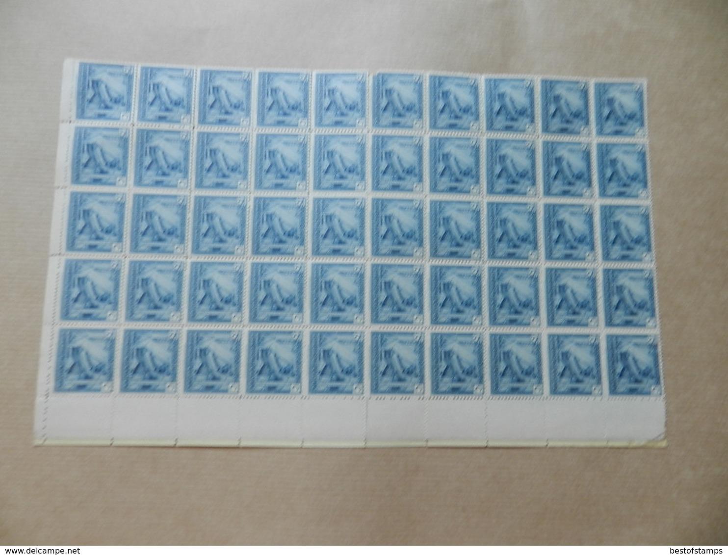 R - Nr 125  Vel Van 100 ( Vastgekleefd ) - Belgisch-Kongo
