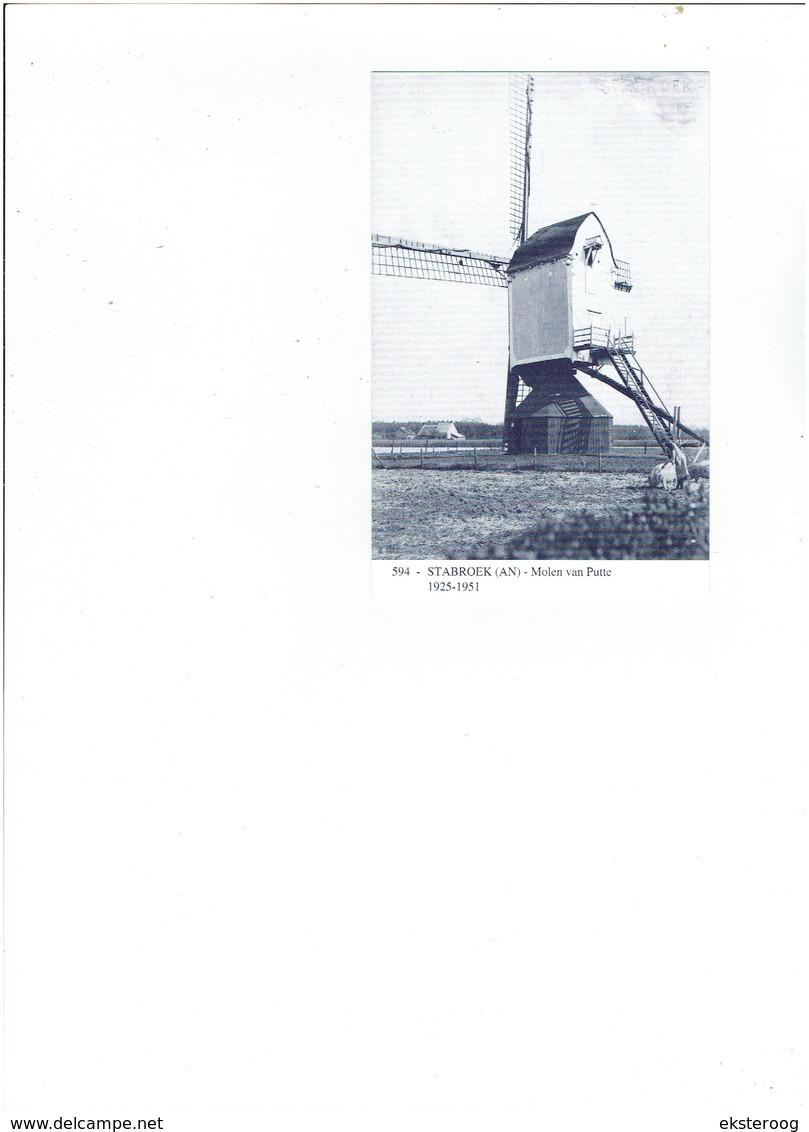 Stabroek 594 - Molen Van Putte - 1925-1951 - Stabroek