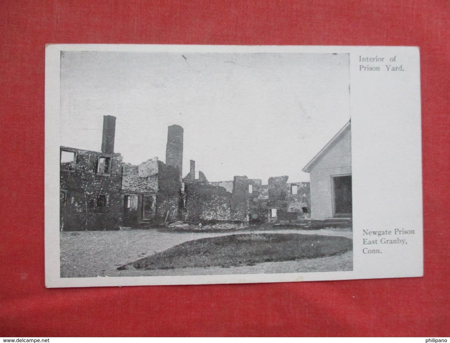Prison Yard       Newgate Prison          East Granby Conn.      Ref 3430 - Prison
