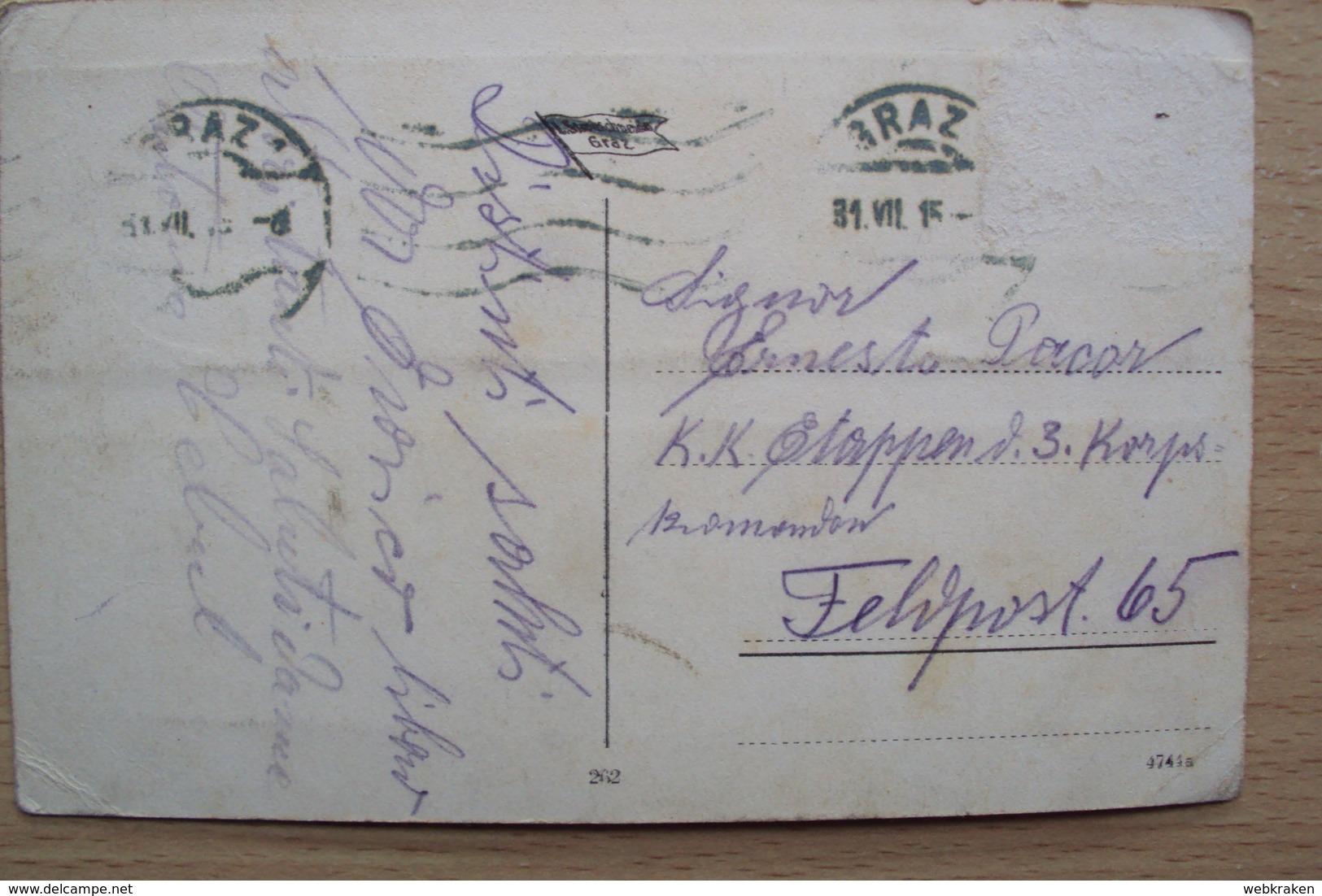 AUSTRIA   POST CARD FROM GRAZ - Austria