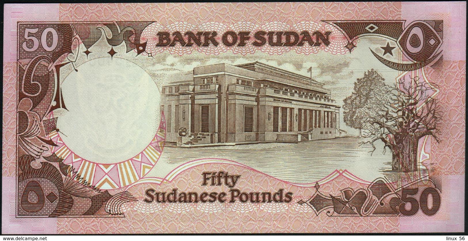 SUDAN - 50 Pounds 1991 UNC P.48 - Sudan