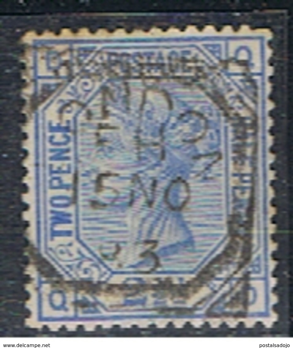 (GB 437A) GREAT BRITAIN // YVERT 62 (PLANCHE 23) // 1880 - 1840-1901 (Victoria)