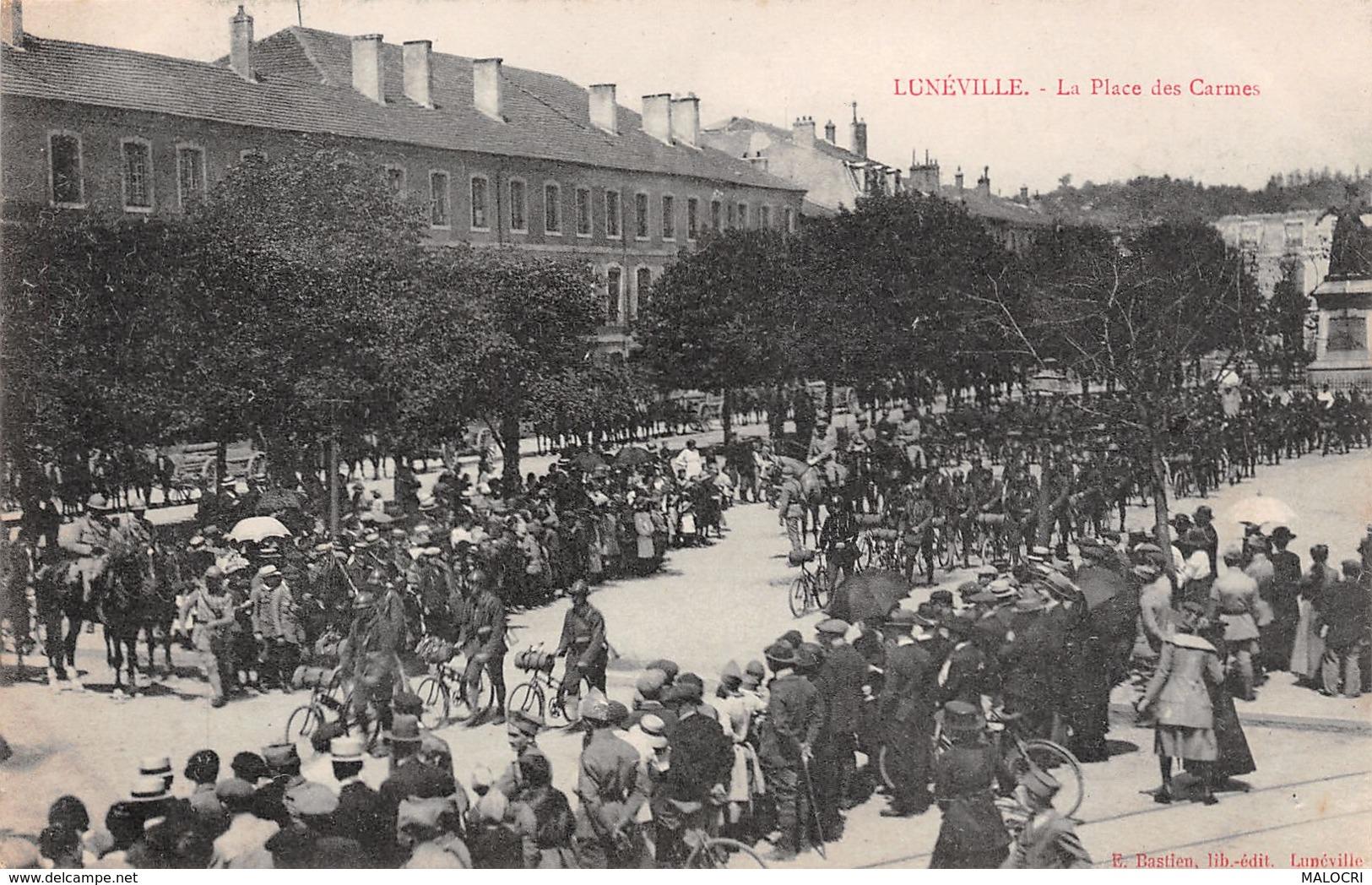 54-LUNEVILLE-N°1170-A/0377 - Luneville