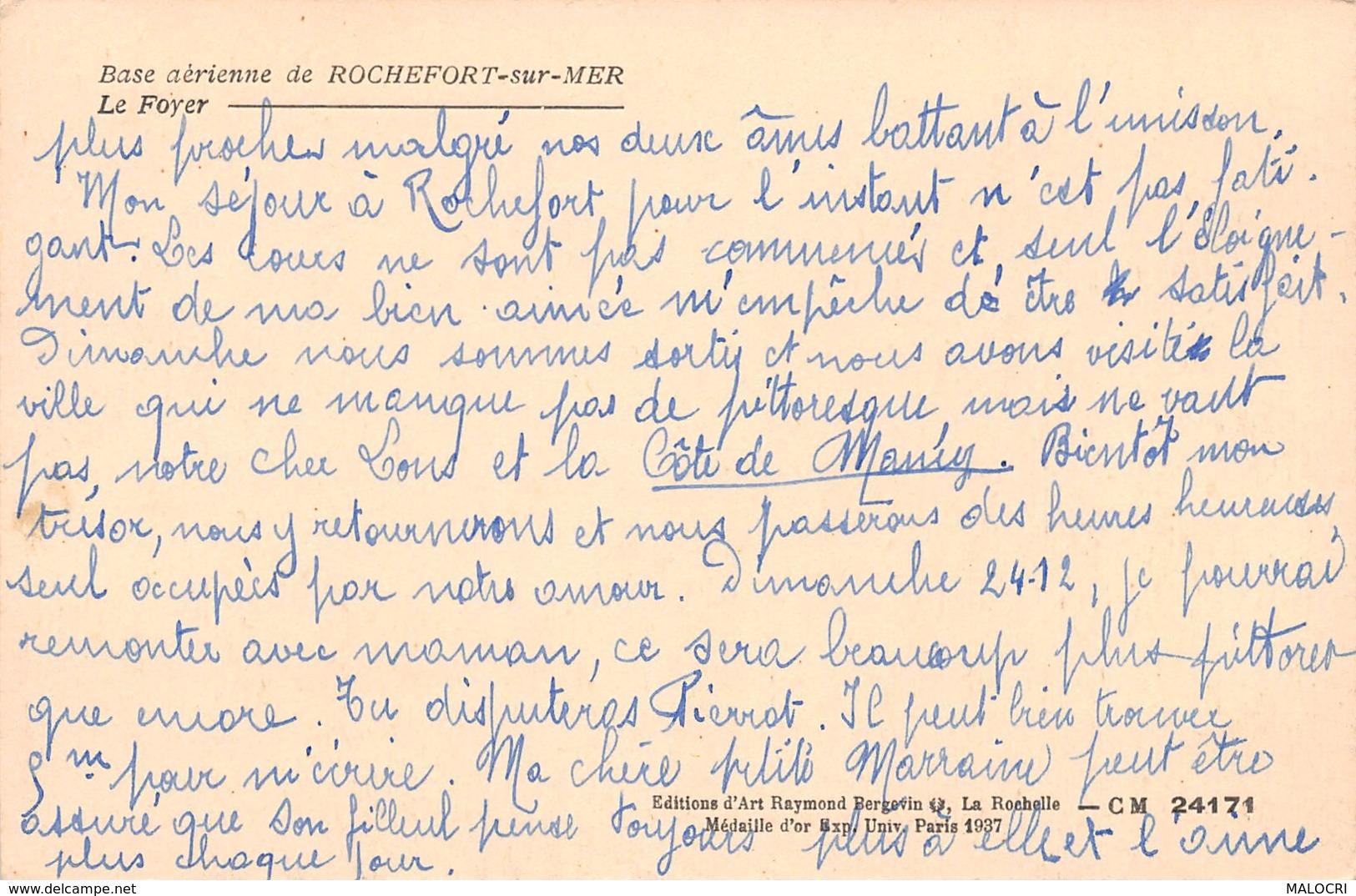 17-ROCHEFORT SUR MER-N°1172-E/0365 - Francia