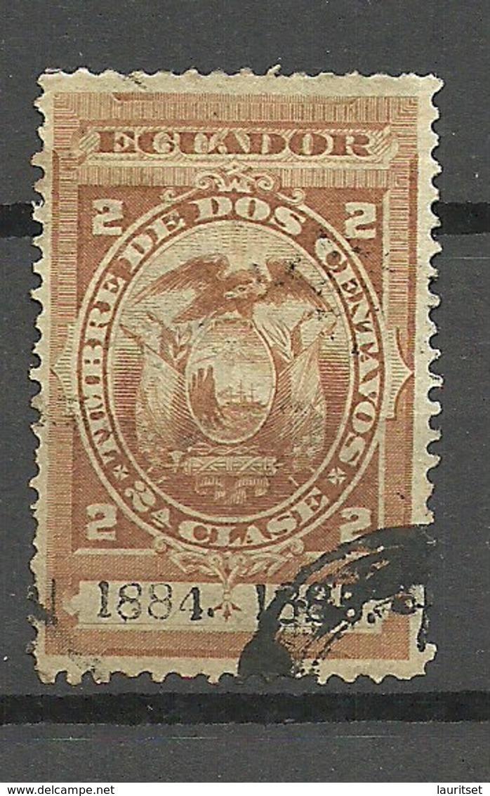 ECUADOR 1884/1885 Revenue Tax Stamp 2 C. O - Equateur