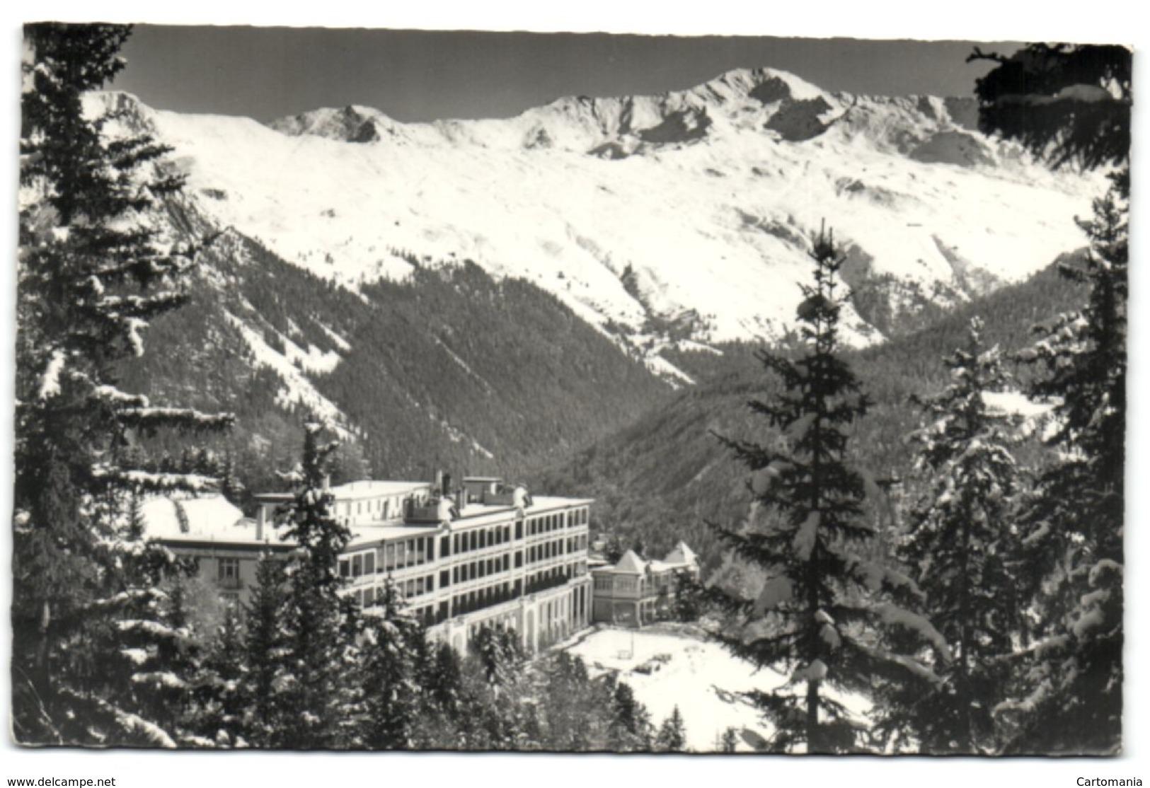 Berghotel Schatzalp - Davos Gegen Pischahorn - GR Grisons