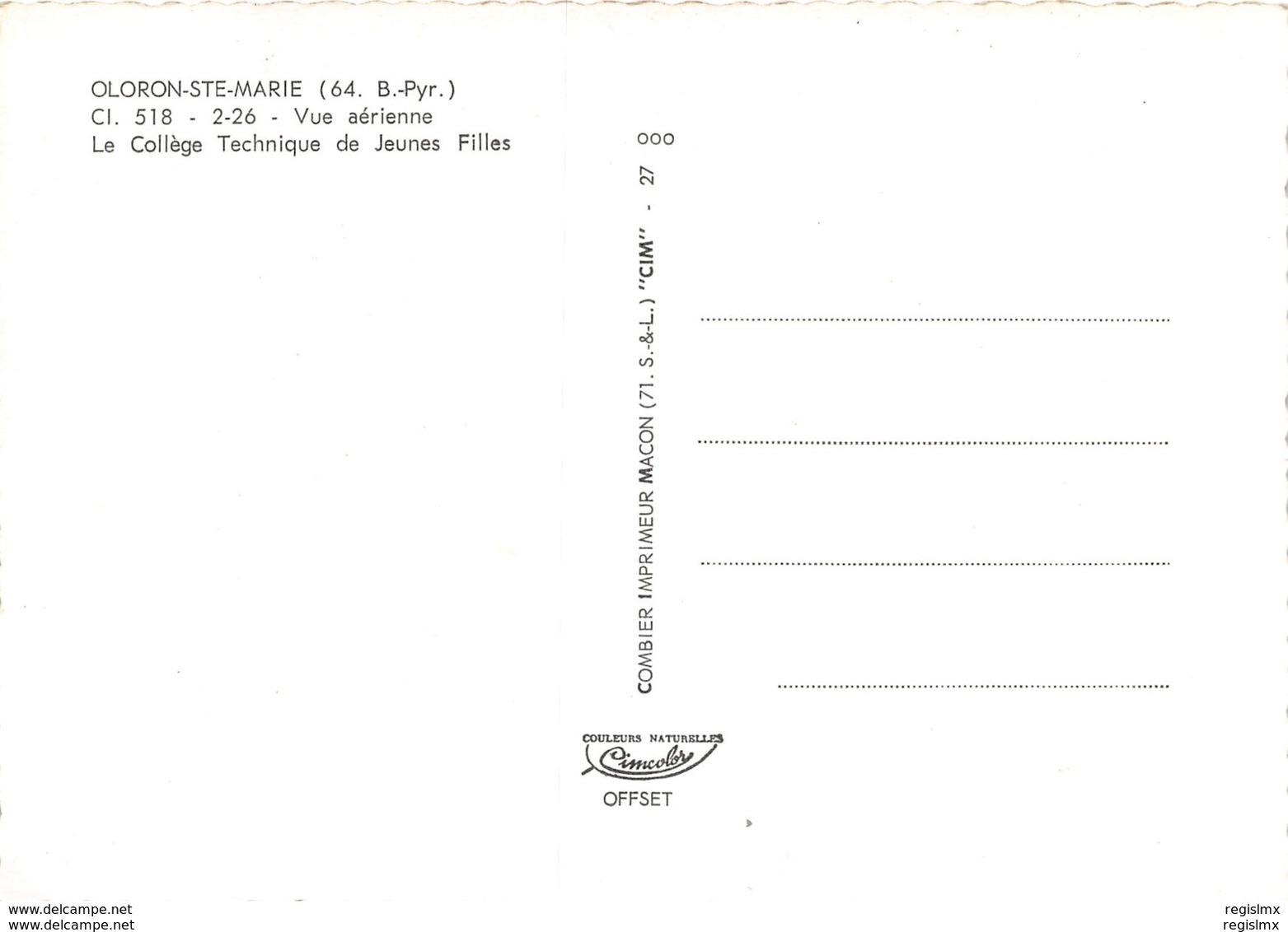 64-OLORON SAINTE MARIE-N°1023-B/0263 - Oloron Sainte Marie