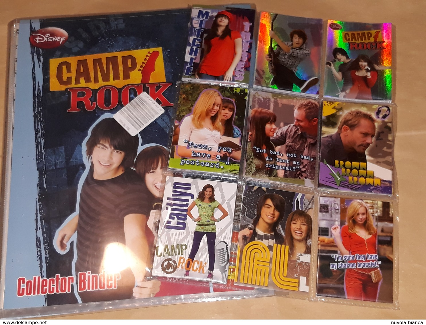 CAMP ROCK Album Vuoto+set Completo Card Panini 2008 - Panini