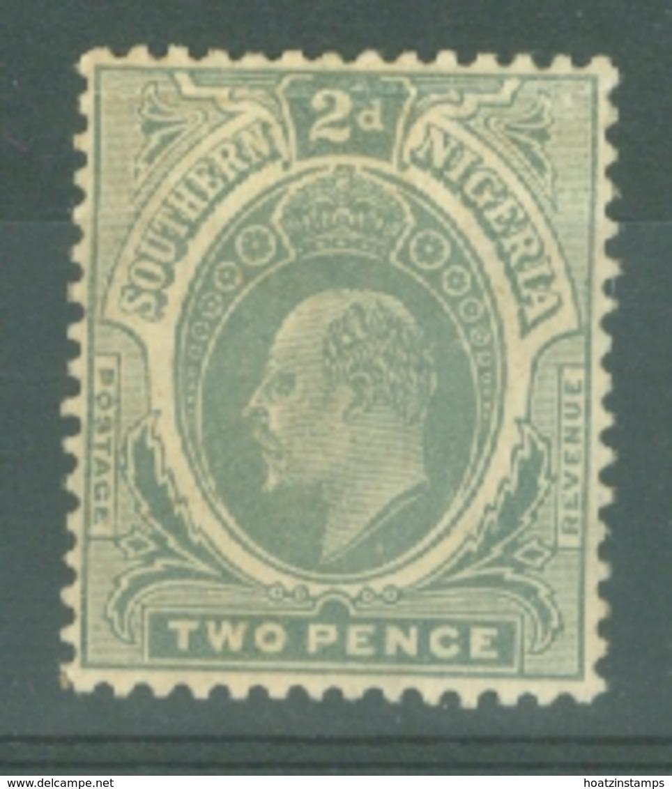 Southern Nigeria: 1907/11   Edward    SG35    2d    MH - Nigeria (...-1960)