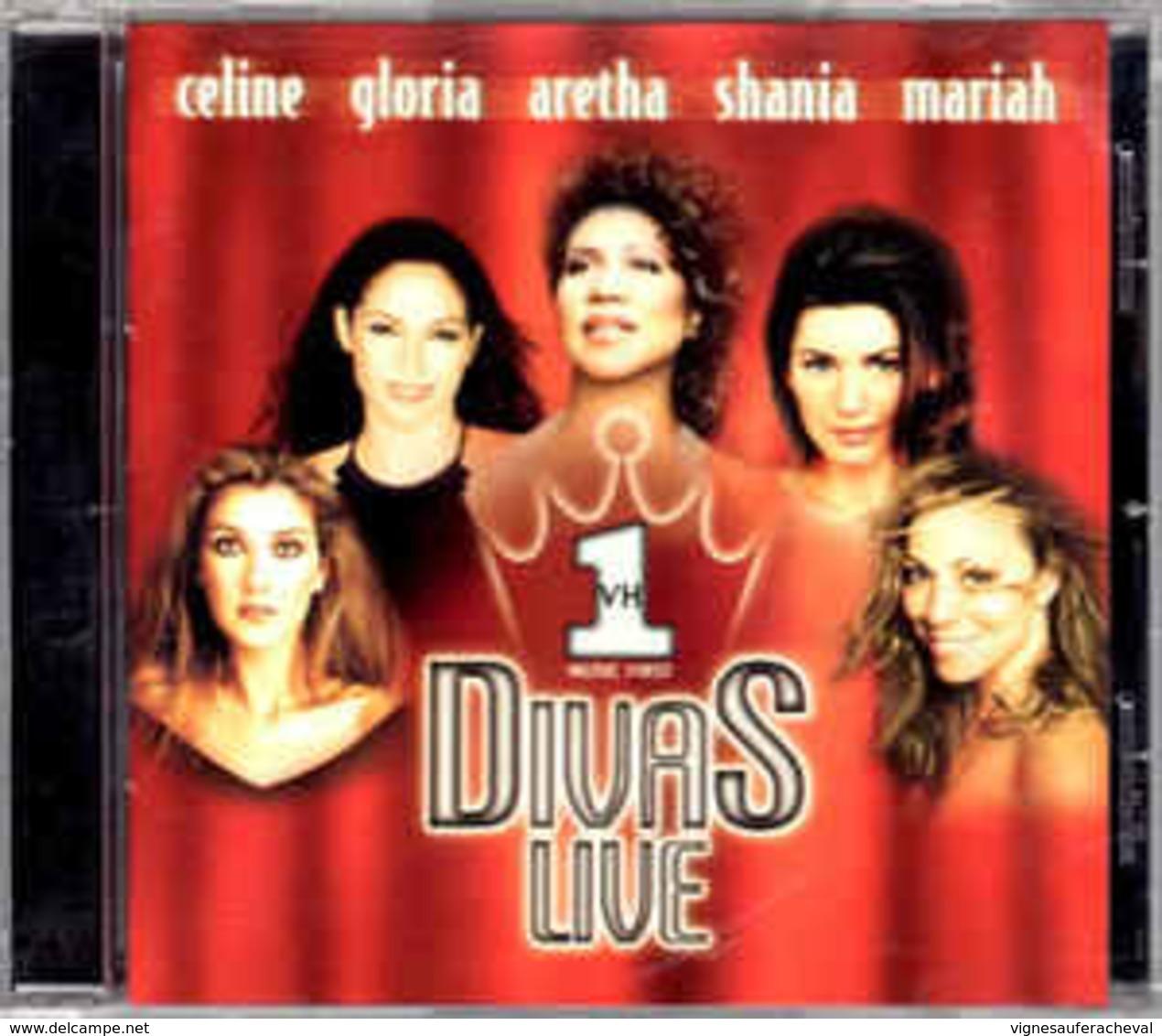 Artistes Varies- VH1 Divas Live - Music & Instruments