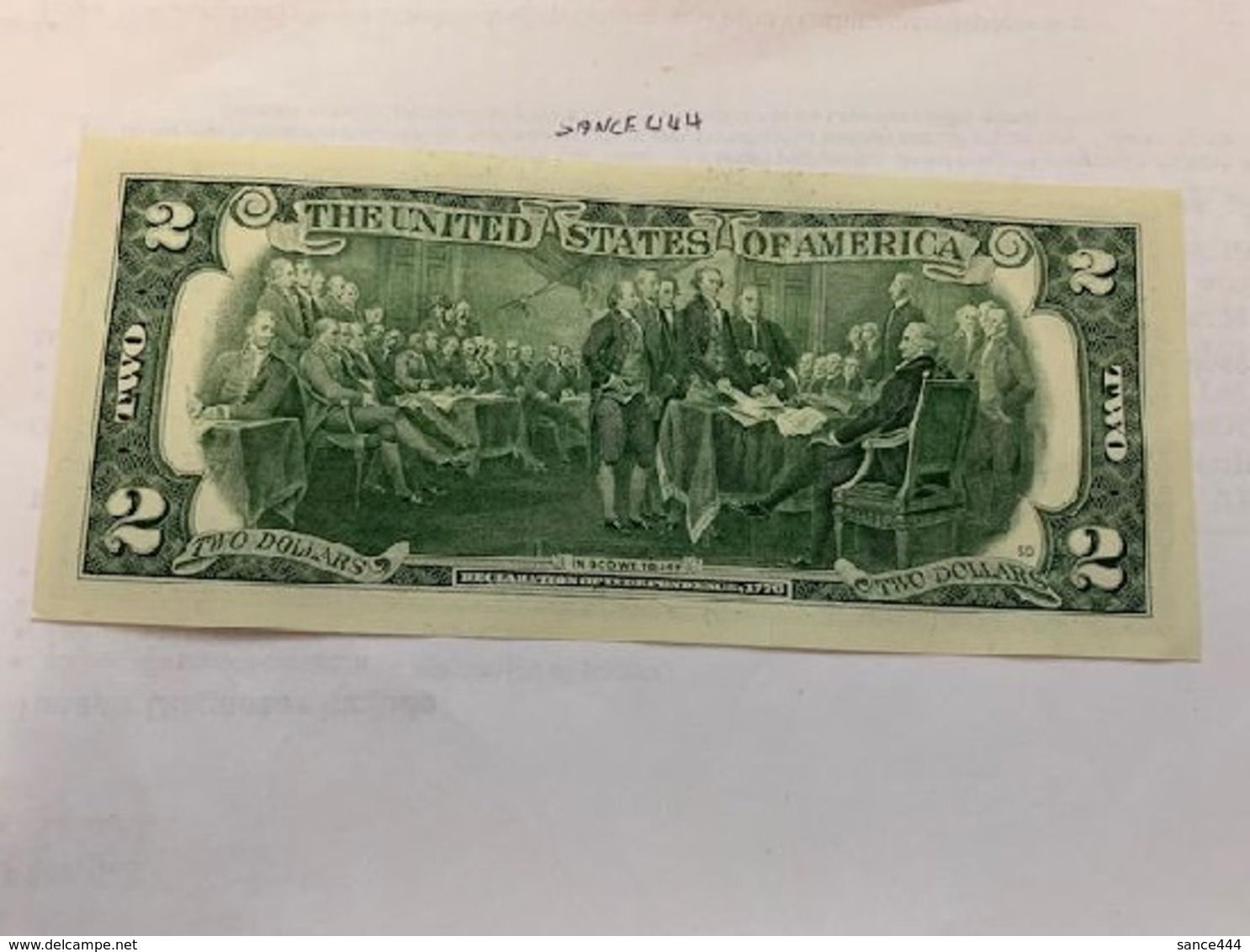 USA United States  $2.00 Banknote   2013  #6 - National Currency