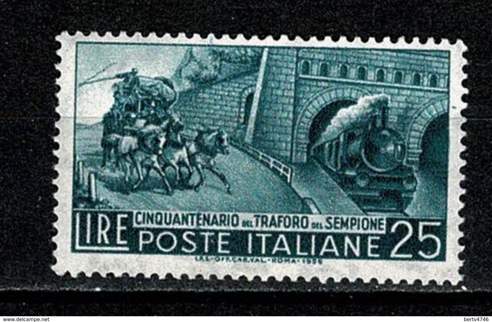 Italia  1956 - Yv 724** MNH - 6. 1946-.. República