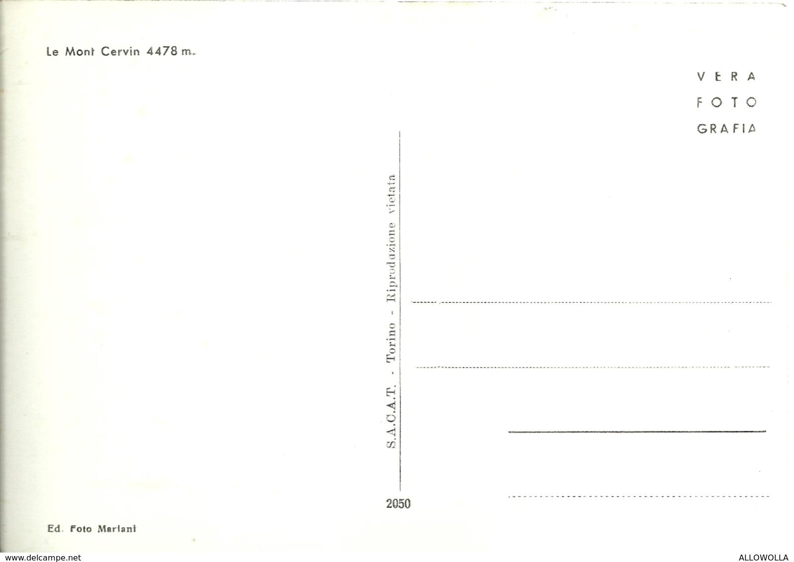 """4427""""IL CERVINO M. 4478"""" CARTOLINA POST.  ORIGINALE NON SPED. - Italy"""