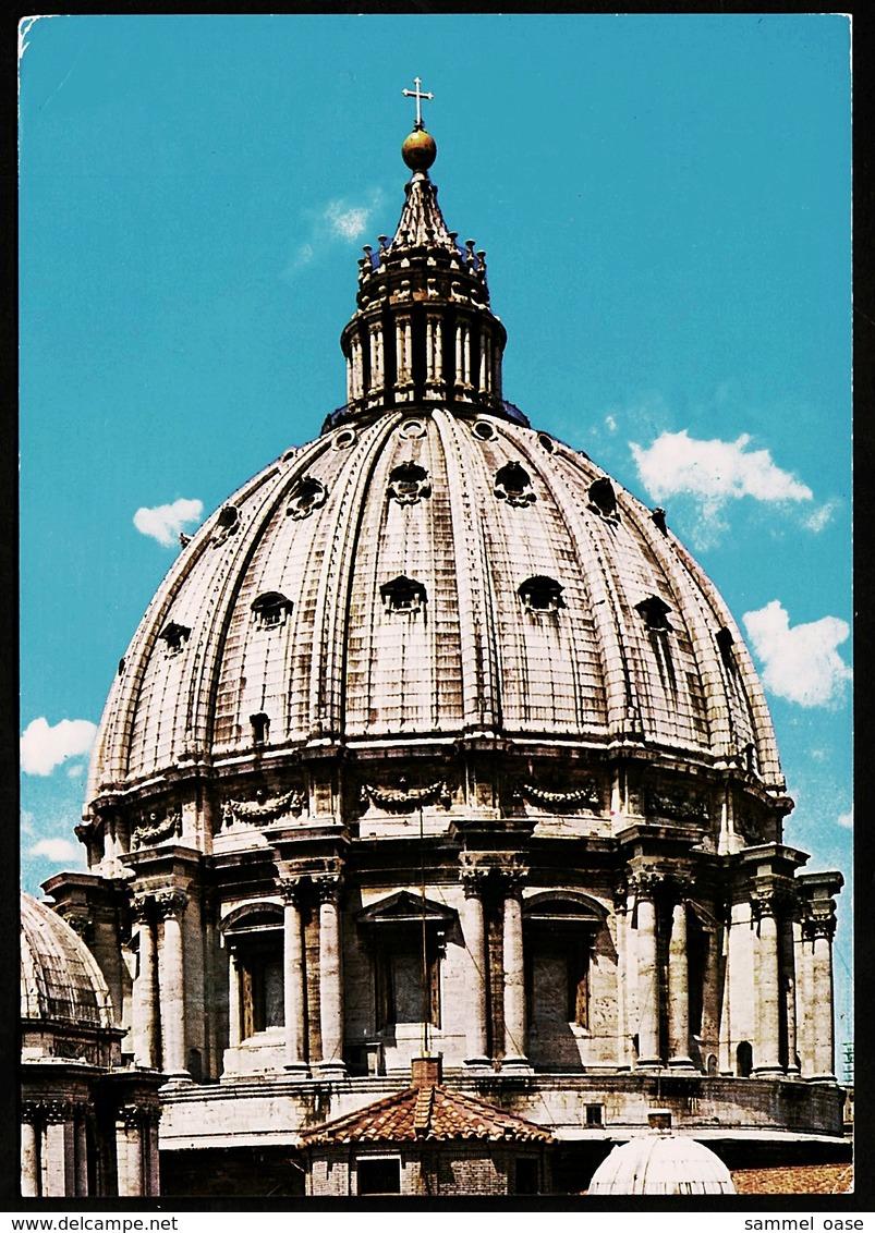 Citta Del Vaticano  -  Basilica Di S. Pietro  -  La Cupola  -  Ansichtskarte Ca. 1975   (11138) - Vatikanstadt