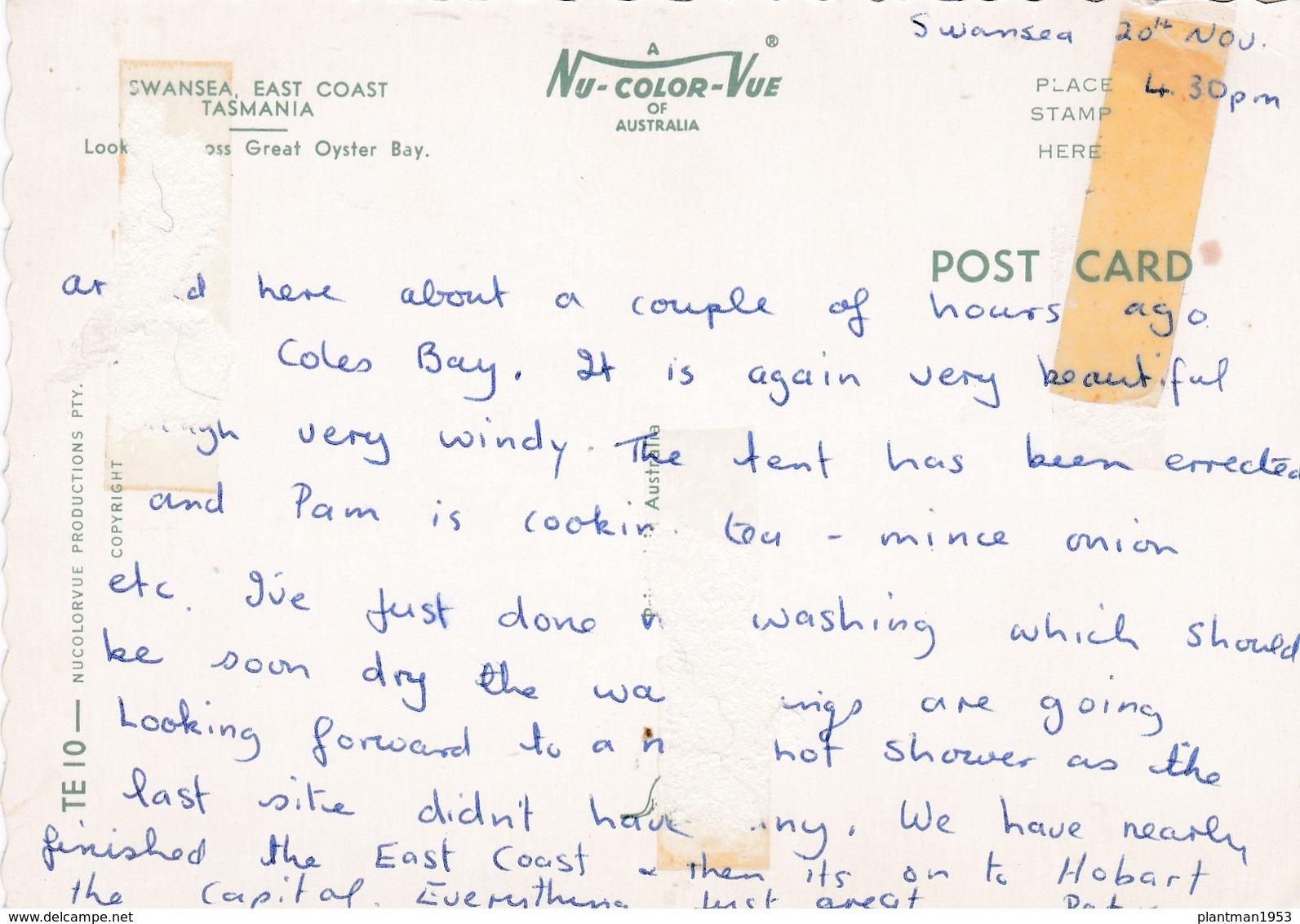Modern Post Card Of Swansea,East Coast,Tasmania, Australia.D22. - Australia