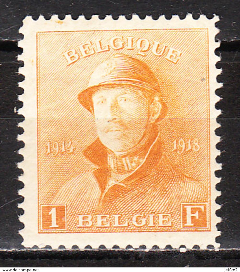 175**  Roi Albert Casqué - Bonne Valeur - MNH** - COB 120 - Vendu à 14% Du COB!!!! - 1919-1920 Roi Casqué