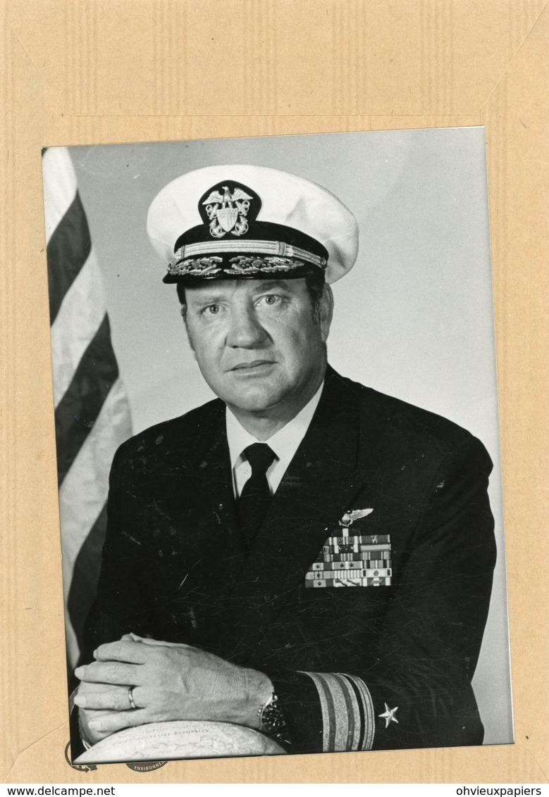 Photo Originale , PAUL H. SPEER  Officier Américain De L'OTAN - Guerre, Militaire