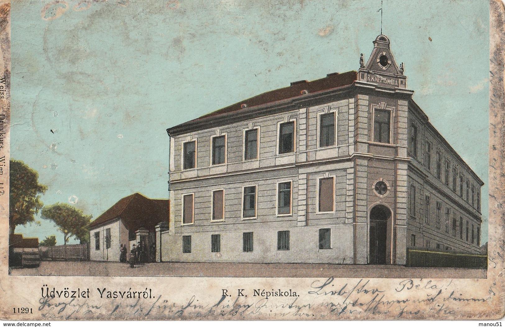 HONGRIE - Üdvözlet Vasvarrol - Ungheria