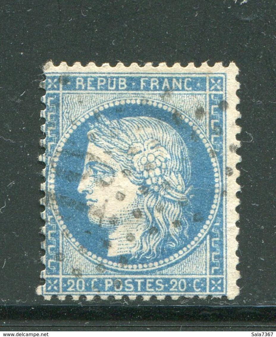 Y&T N°60A- étoile 19 - 1871-1875 Ceres
