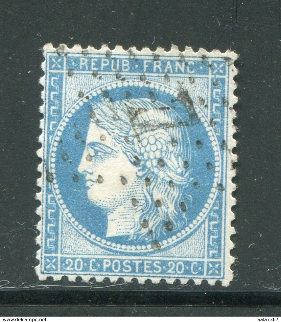 Y&T N°37- étoile 7 - 1870 Assedio Di Parigi