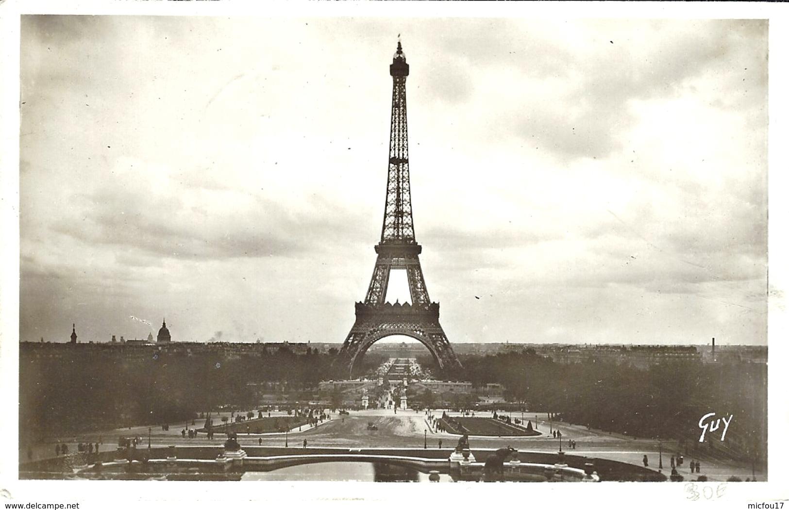 5-5-1939 - C P A De La Tour Eiffel Affr. N° 429  Oblit. 1 Er JOUR D'EMISSION ( F D C ) - FDC