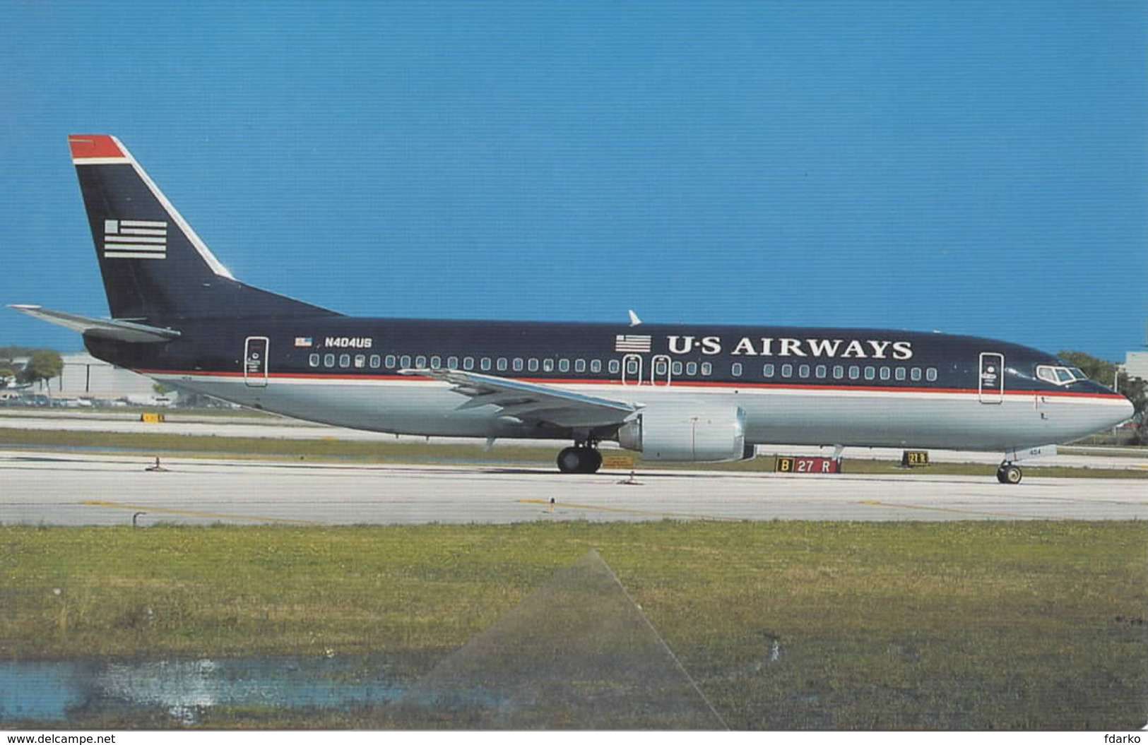 US. AIRWAYS B-737-3B7 N519AU  Aviation Aiplane Planes Flugzeuge - 1946-....: Era Moderna