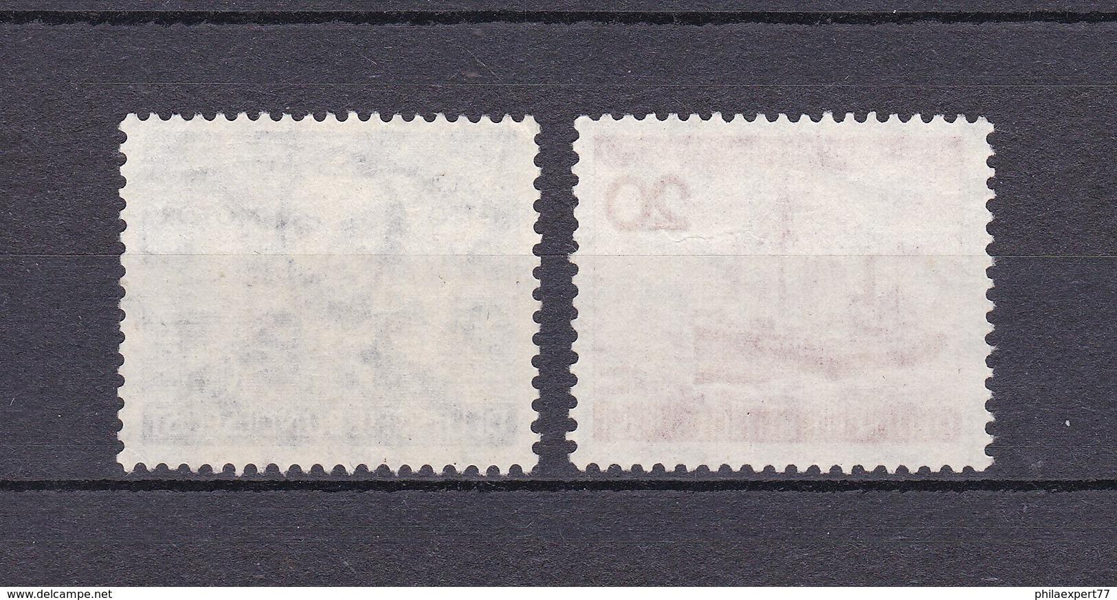 BRD - 1952 - Michel Nr. 150+152 - Gest. - 23 Euro - BRD