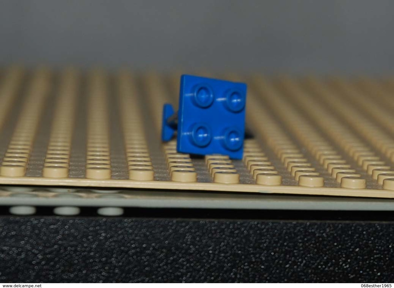 Lego Queue Aile Space Avion Bleu 4x2x2 Ref 3479 - Lego Technic