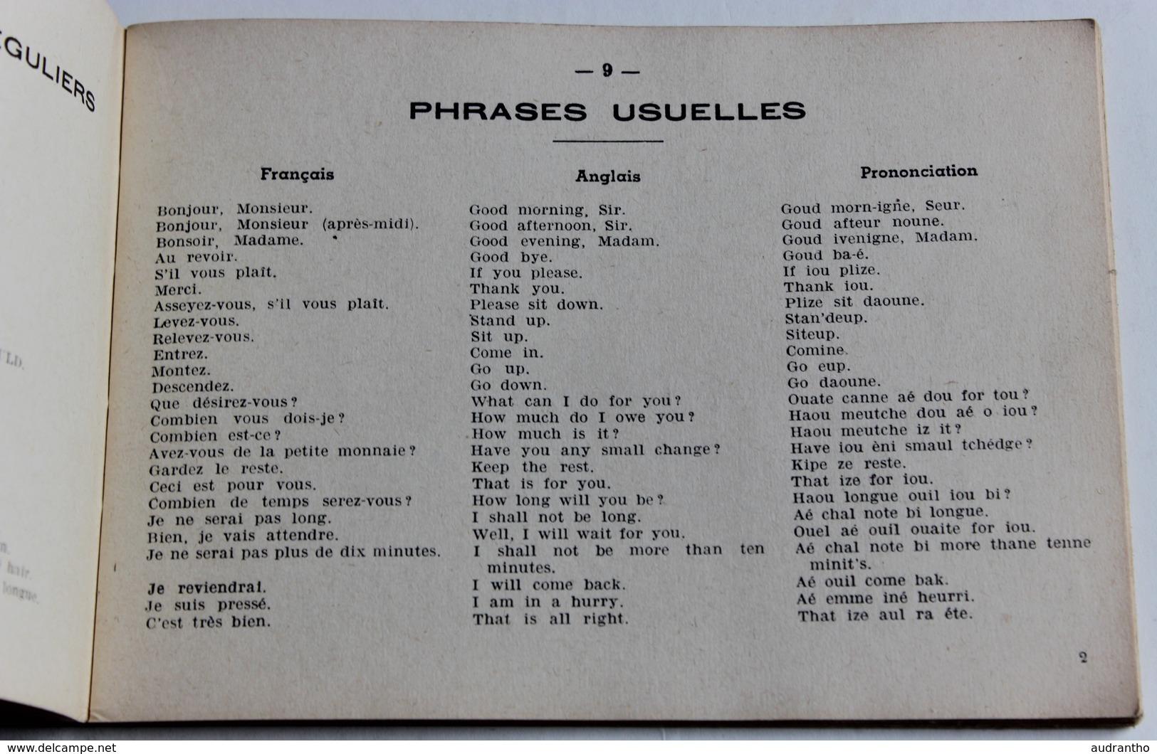 Original Livre 1938 Ce Que Tout Coiffeur Doit Savoir En Anglais Par Emile Aubourg éditions Ulysse Boucoiran Hairdresser - Livres