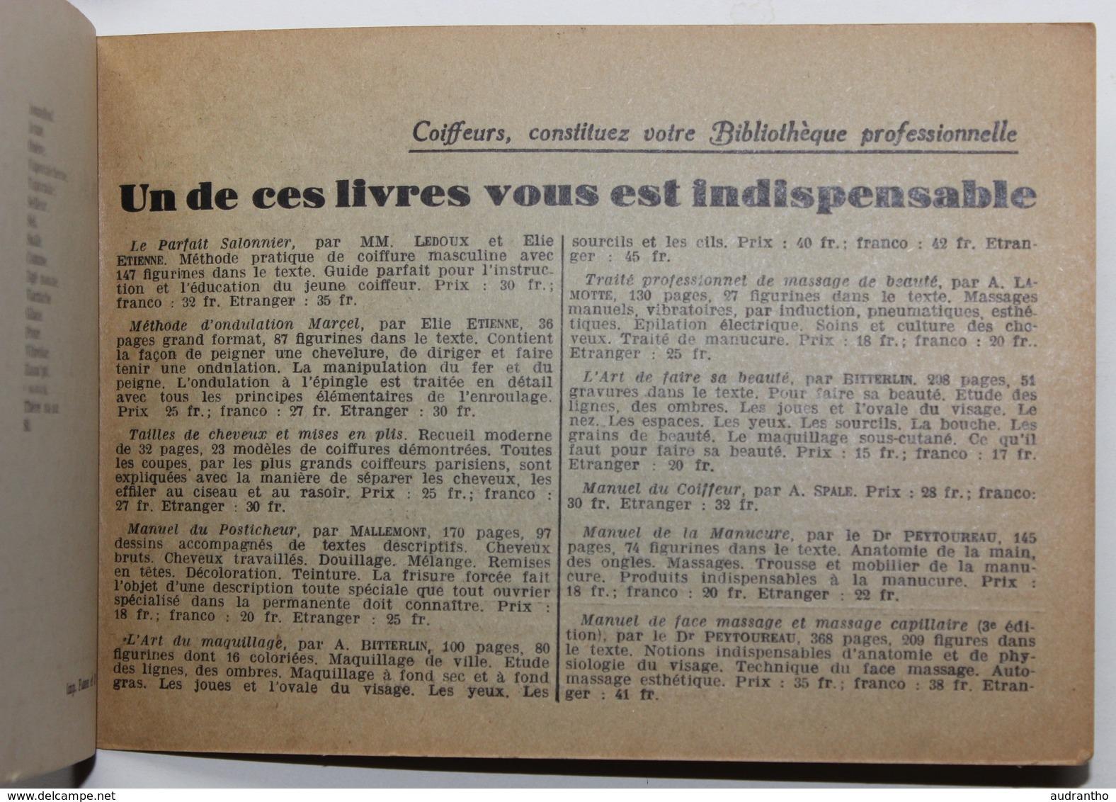 Original Livre Ce Que Tout Coiffeur Doit Savoir En Anglais Par Emile Aubourg 1938 éditions Ulysse Boucoiran Hairdresser - Livres