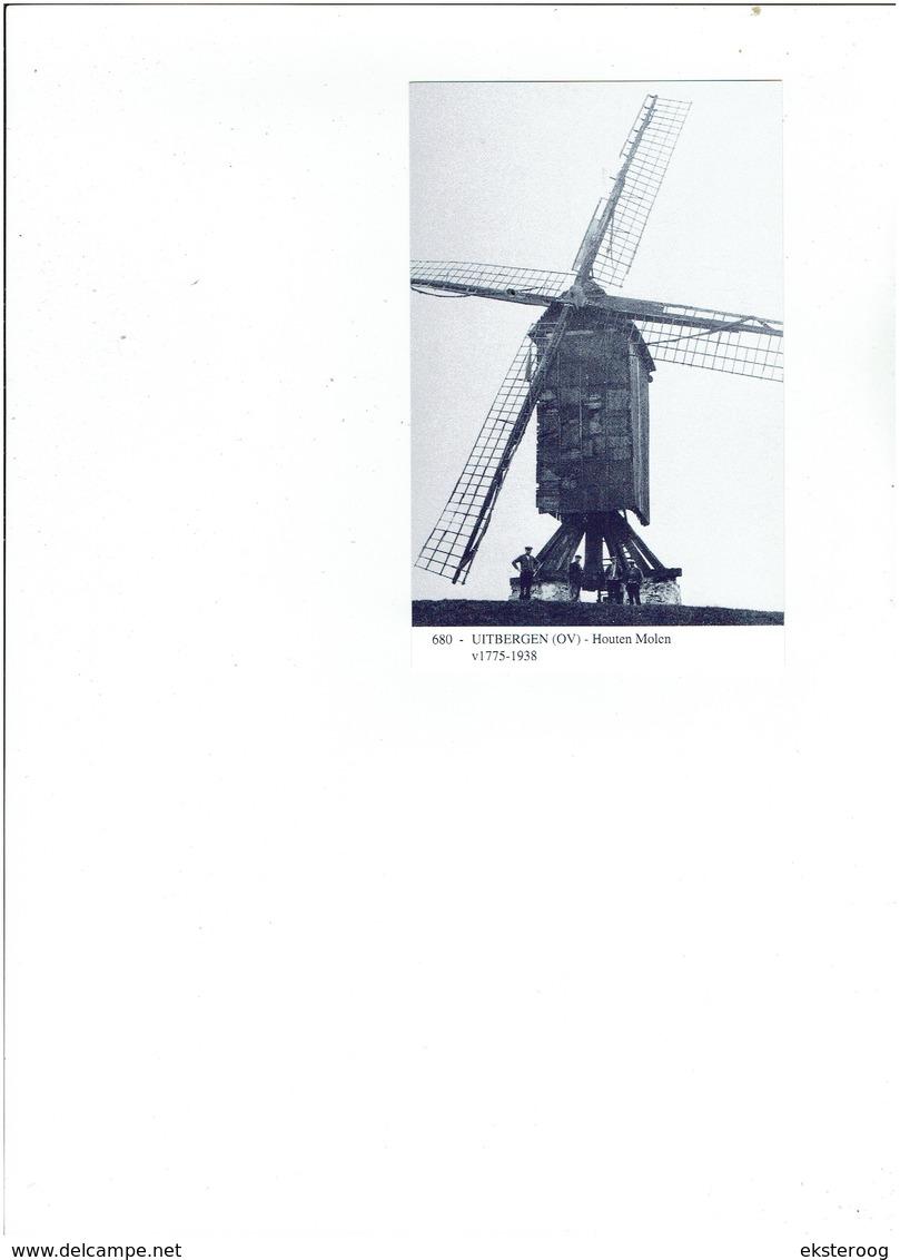 Uitbergen 680 -houten Molen - 1775-1938 - Zele