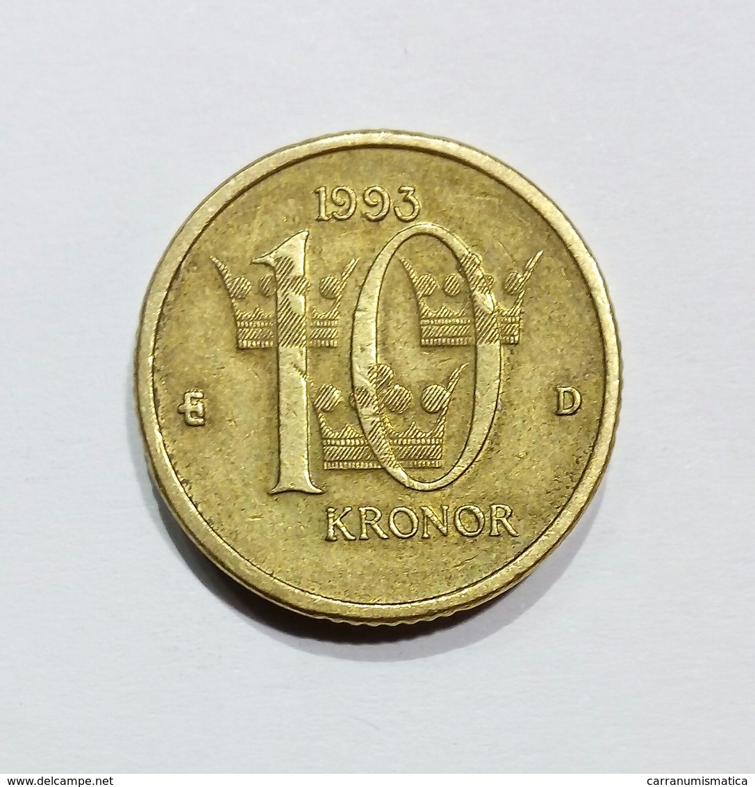 SWEDEN / SVEZIA - 10 KRONOR (1993) - Schweden