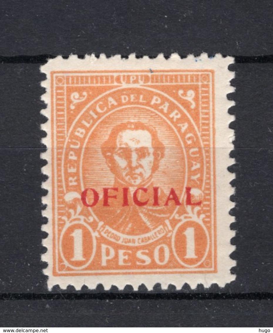 PARAGUAY Yt. S89 MH* Dienstzegel 1934 - Paraguay