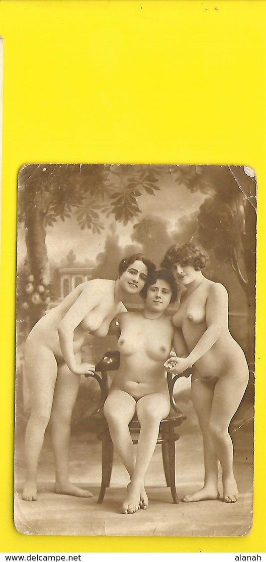 Photo 3 Femmes Aux Seins Nus - Fine Nudes (adults < 1960)