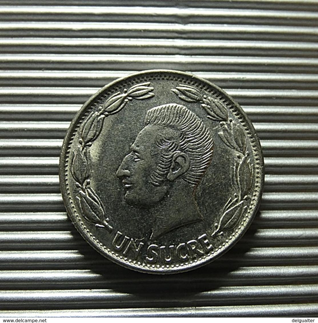 Ecuador 1 Sucre 1981 - Ecuador